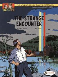 Cover Thumbnail for The Adventures of Blake & Mortimer (Cinebook, 2007 series) #5 - The Strange Encounter