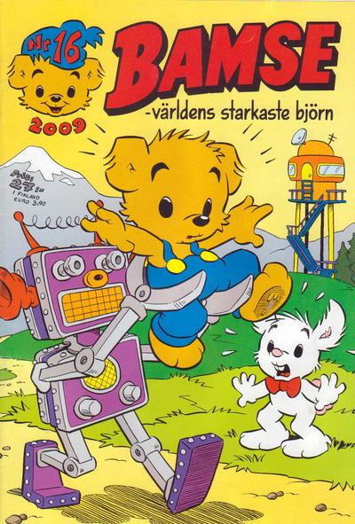 Cover for Bamse (Egmont, 1997 series) #16/2009