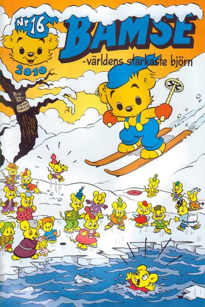 Cover for Bamse (Egmont, 1997 series) #16/2010