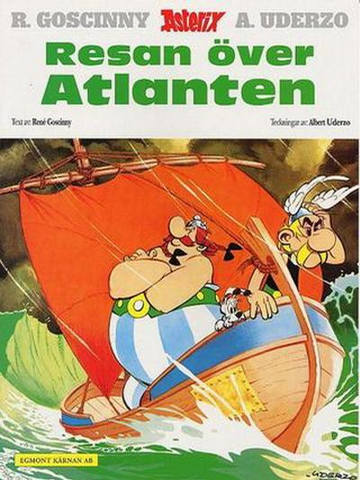 Cover for Asterix (Egmont, 1996 series) #22 - Resan över Atlanten
