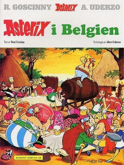Cover for Asterix (Egmont, 1996 series) #24 - Asterix i Belgien