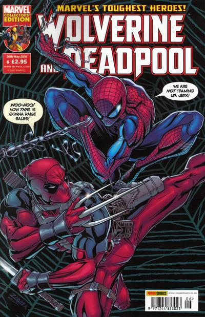 Cover for Wolverine and Deadpool (Panini UK, 2010 series) #6