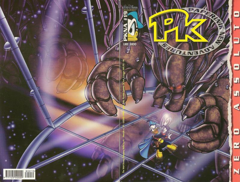 Cover for Pk Paperinik New Adventures (The Walt Disney Company Italia, 1996 series) #19