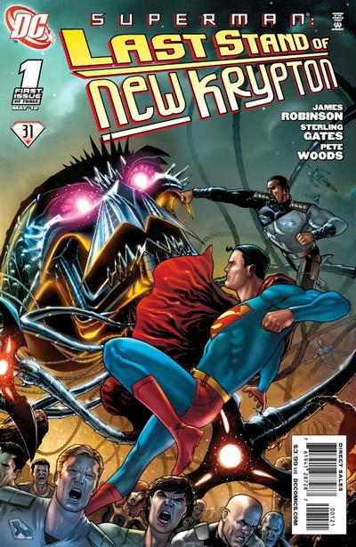 Cover for Superman: Last Stand of New Krypton (DC, 2010 series) #1