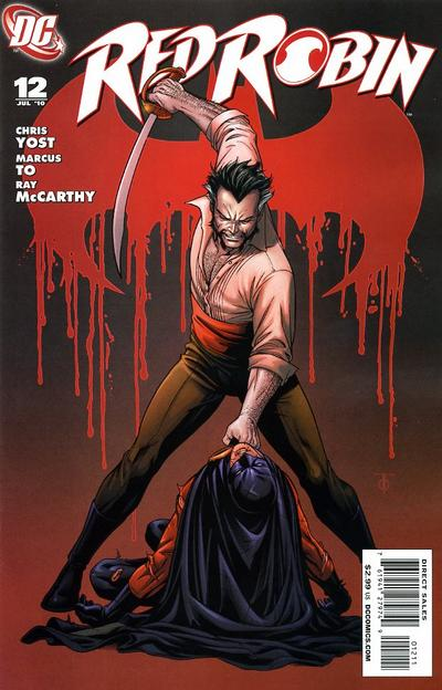 Cover for Red Robin (DC, 2009 series) #12