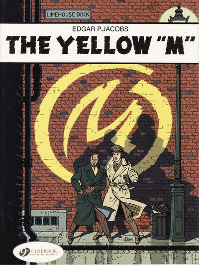 """Cover for The Adventures of Blake & Mortimer (Cinebook, 2007 series) #1 - The Yellow """"M"""""""