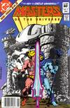 Cover for Masters of the Universe (DC, 1982 series) #2 [Newsstand Variant]