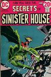 Cover for Secrets of Sinister House (DC, 1972 series) #7