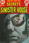 Cover for Secrets of Sinister House (DC, 1972 series) #9