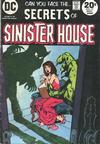 Cover for Secrets of Sinister House (DC, 1972 series) #15