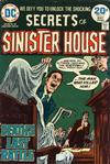 Cover for Secrets of Sinister House (DC, 1972 series) #17