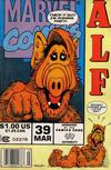 Cover for ALF (Marvel, 1988 series) #39 [Newsstand Edition]
