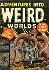 Cover for Adventures Into Weird Worlds (Marvel, 1952 series) #3