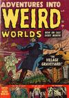 Cover for Adventures Into Weird Worlds (Marvel, 1952 series) #4