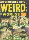 Cover for Adventures Into Weird Worlds (Marvel, 1952 series) #8