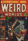Cover for Adventures into Weird Worlds (Marvel, 1952 series) #9