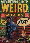 Cover for Adventures into Weird Worlds (Marvel, 1952 series) #10