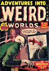 Cover for Adventures Into Weird Worlds (Marvel, 1952 series) #11