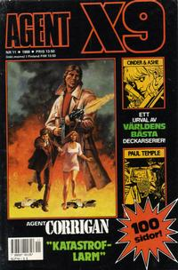 Cover Thumbnail for Agent X9 (Semic, 1971 series) #11/1988