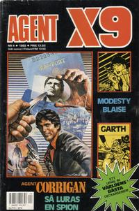 Cover Thumbnail for Agent X9 (Semic, 1971 series) #4/1989