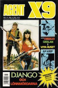 Cover Thumbnail for Agent X9 (Semic, 1971 series) #8/1989
