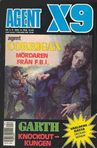 Cover Thumbnail for Agent X9 (Semic, 1971 series) #4/1990