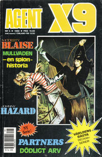 Cover Thumbnail for Agent X9 (Semic, 1971 series) #5/1990