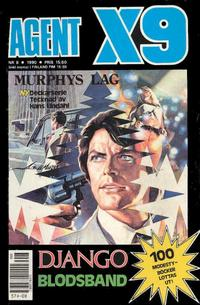 Cover Thumbnail for Agent X9 (Semic, 1971 series) #8/1990