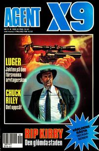 Cover Thumbnail for Agent X9 (Semic, 1971 series) #11/1990