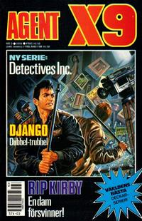 Cover Thumbnail for Agent X9 (Semic, 1971 series) #3/1991