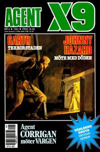 Cover Thumbnail for Agent X9 (Semic, 1971 series) #5/1991