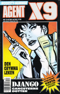 Cover Thumbnail for Agent X9 (Semic, 1971 series) #12/1991