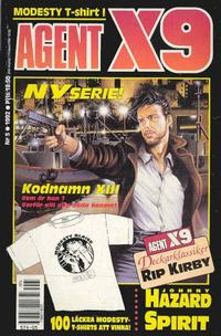 Cover Thumbnail for Agent X9 (Semic, 1971 series) #5/1992