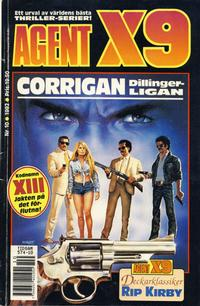 Cover Thumbnail for Agent X9 (Semic, 1971 series) #10/1992
