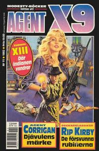 Cover Thumbnail for Agent X9 (Semic, 1971 series) #11/1992