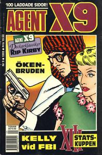 Cover Thumbnail for Agent X9 (Semic, 1971 series) #9/1993