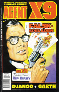 Cover Thumbnail for Agent X9 (Semic, 1971 series) #12/1993