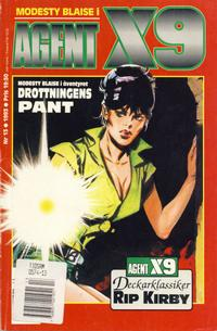 Cover Thumbnail for Agent X9 (Semic, 1971 series) #13/1993