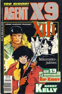 Cover for Agent X9 (Semic, 1971 series) #5/1994