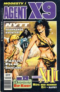 Cover Thumbnail for Agent X9 (Semic, 1971 series) #13/1994