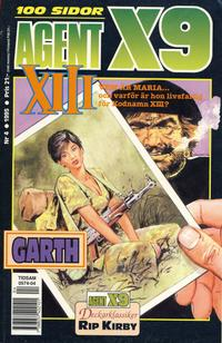 Cover Thumbnail for Agent X9 (Semic, 1971 series) #4/1995
