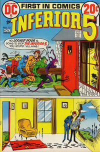 Cover Thumbnail for The Inferior 5 (DC, 1972 series) #12