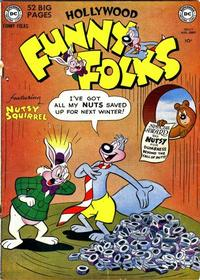Cover Thumbnail for Hollywood Funny Folks (DC, 1950 series) #27