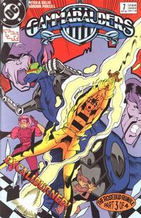 Cover Thumbnail for Gammarauders Comic Book (DC, 1989 series) #7