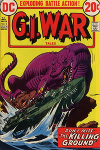 Cover Thumbnail for G.I. War Tales (DC, 1973 series) #2