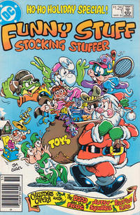 Cover Thumbnail for Funny Stuff Stocking Stuffer (DC, 1985 series) #1 [Newsstand Edition]