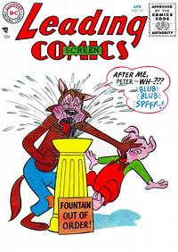 Cover for Leading Screen Comics (DC, 1950 series) #75