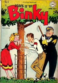 Cover Thumbnail for Leave It to Binky (DC, 1948 series) #3