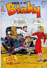 Cover Thumbnail for Leave It to Binky (DC, 1948 series) #17
