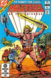 Cover Thumbnail for Masters of the Universe (DC, 1982 series) #1 [Direct Sales]